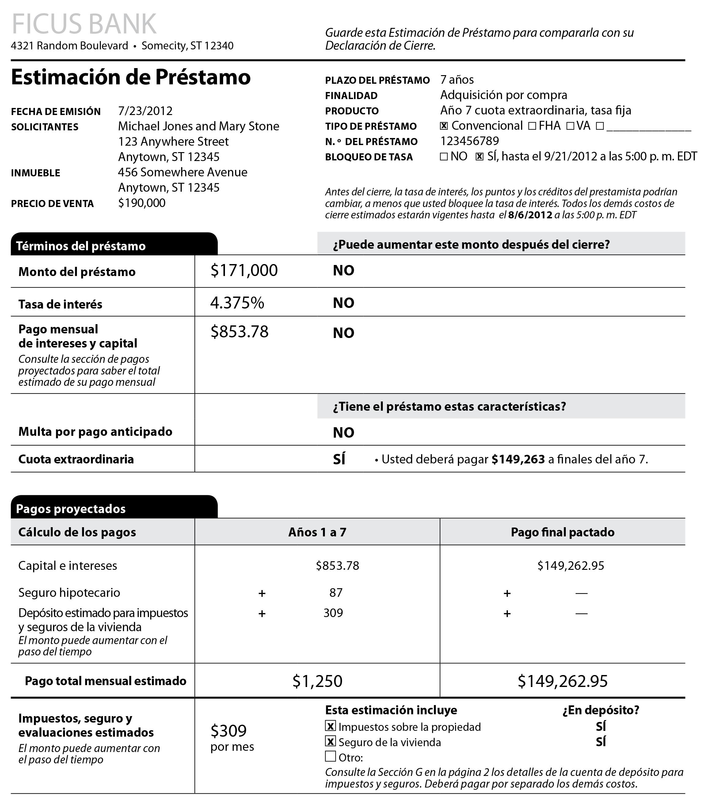 balloon mortgage  balloon mortgage form