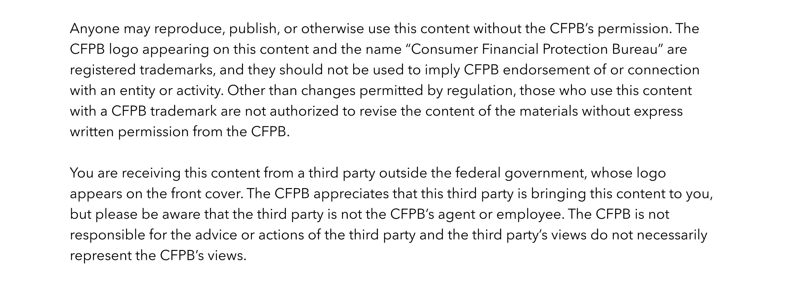 learn more consumer financial protection bureau