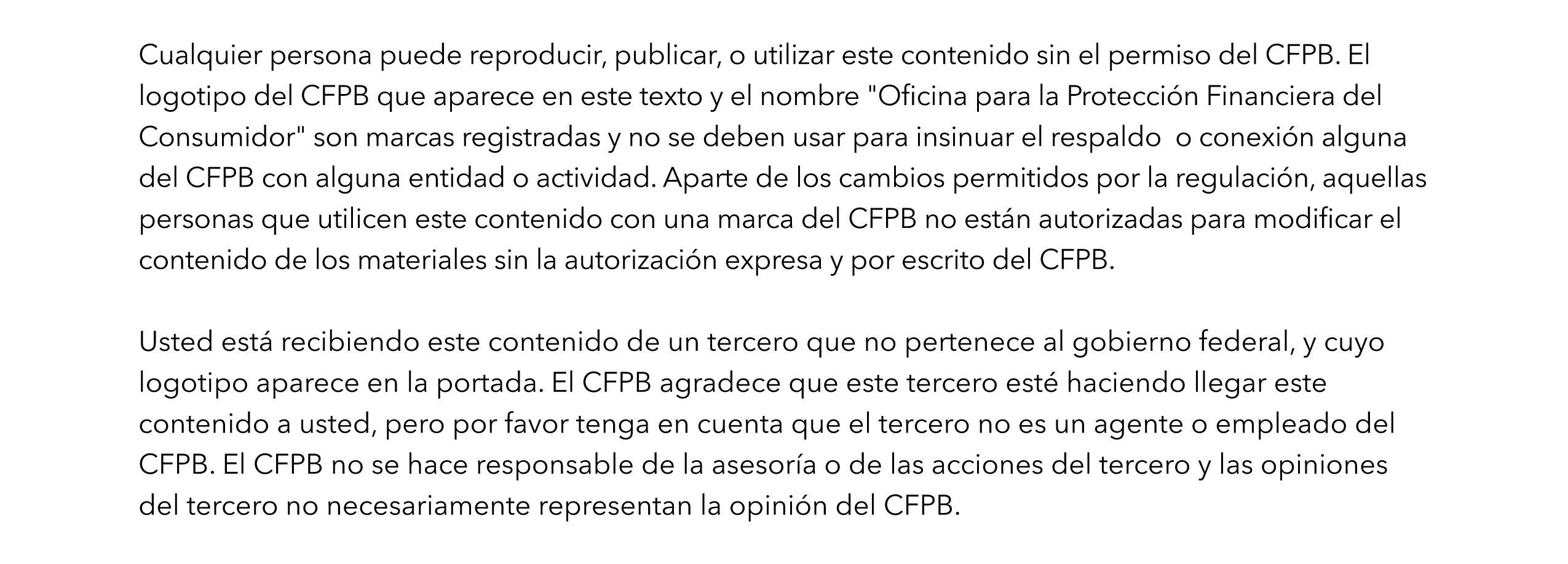 spanish disclaimer