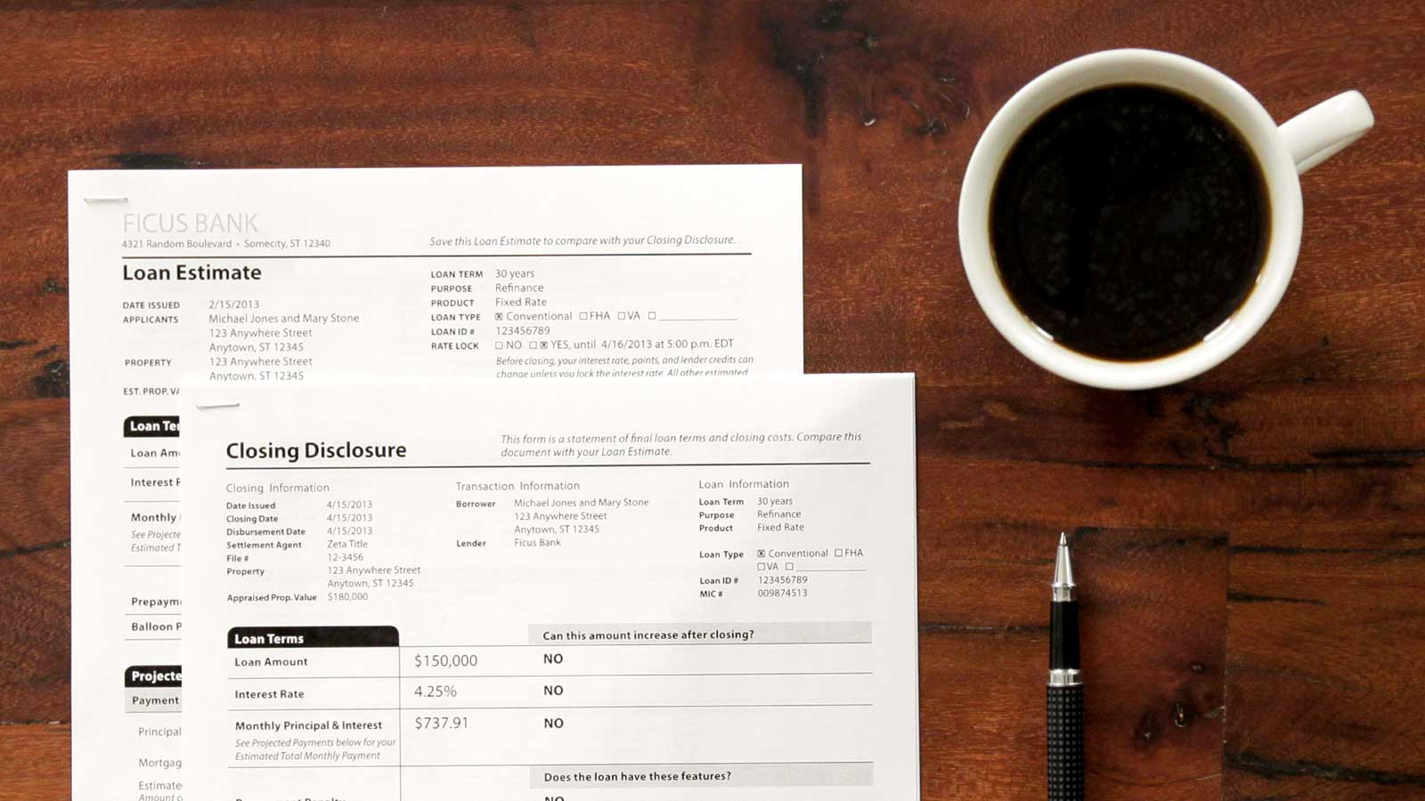 New Mortgage Disclosures, New Rule