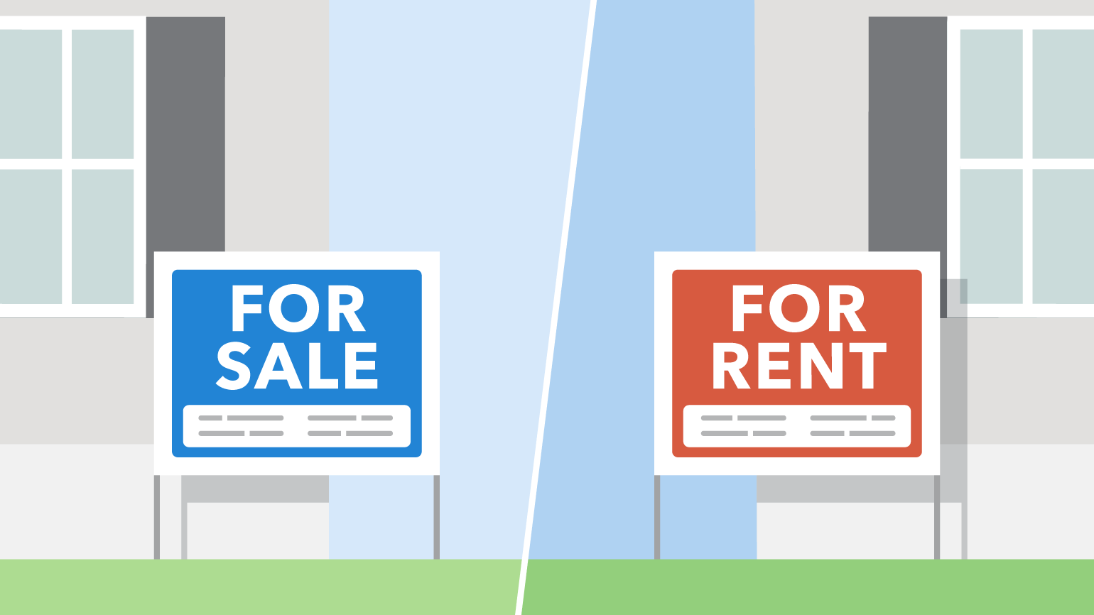 making the decision to rent or buy