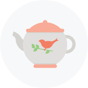 Illustration of a teapot