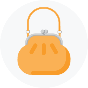 Illustration of a purse
