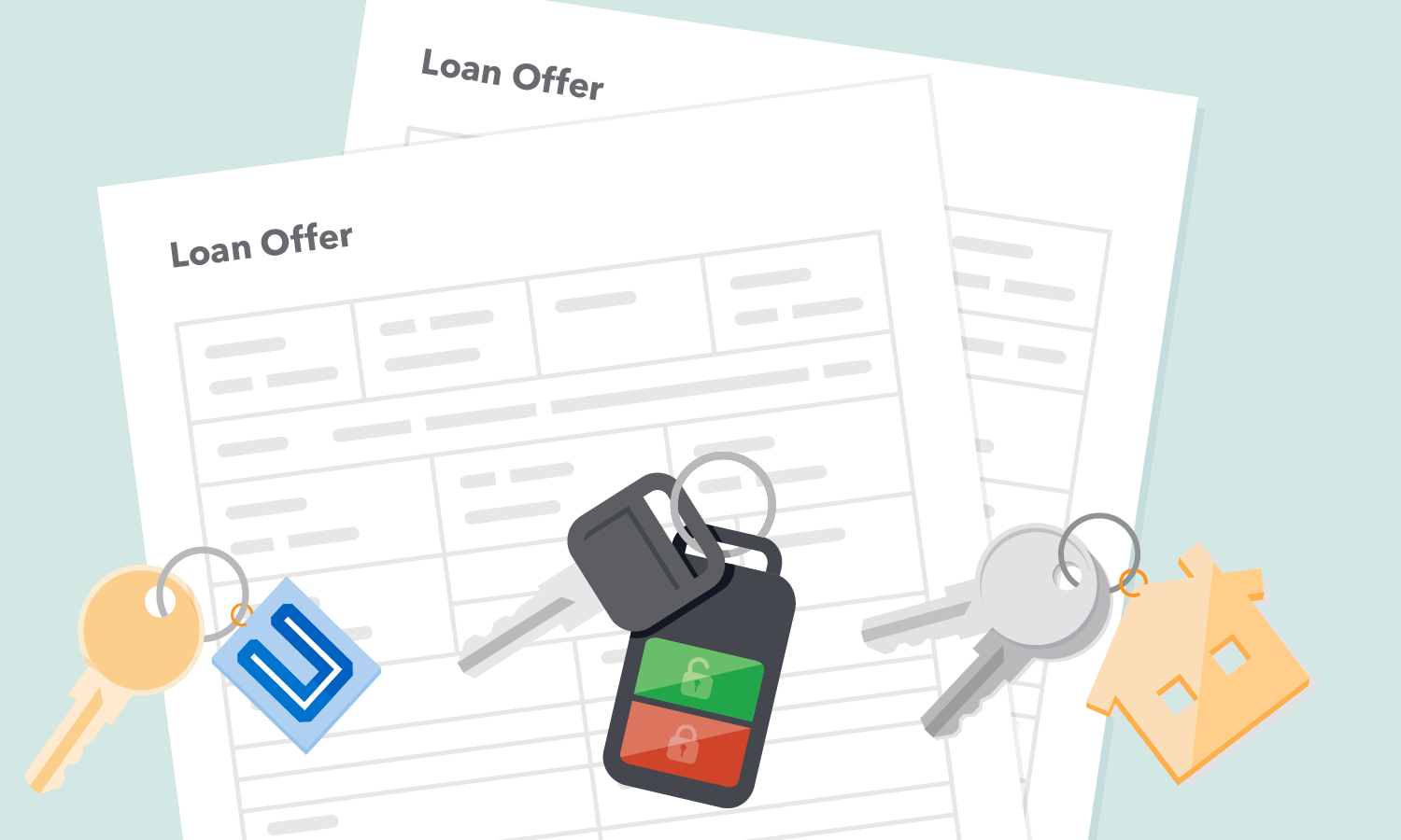 Loan offer forms