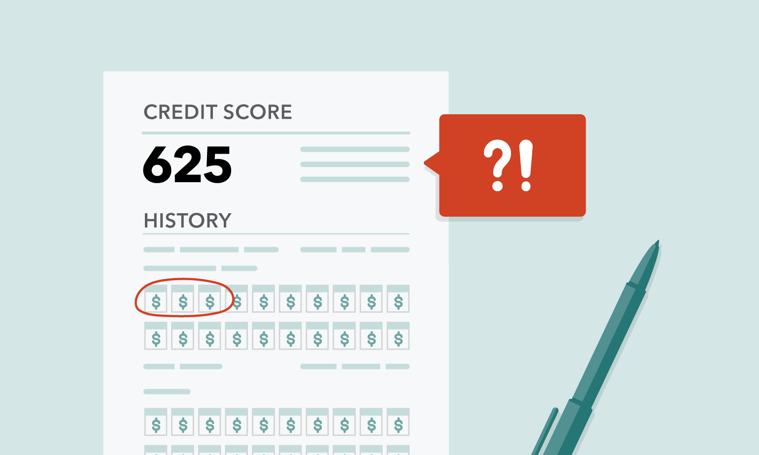 foto de Common errors people find on their credit report - and how to get ...