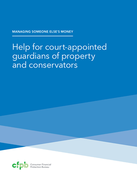 Cover of booklet on court-appointed guardians