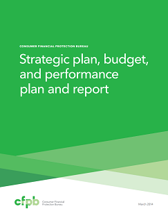 Strategic Plan, Budget, and Performance Plan and Report Cover Page